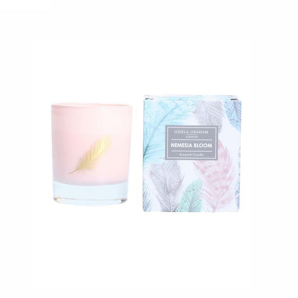 Gisela Graham Nemesia Bloom Scented Candle Pot - 200g
