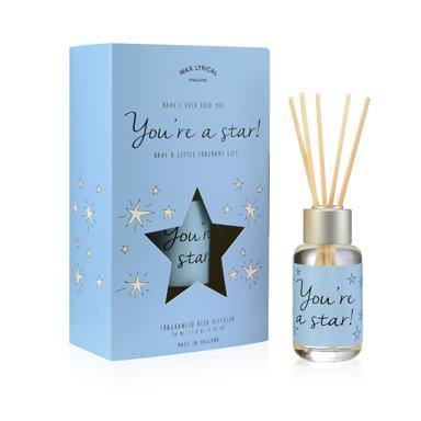Wax Lyrical You're A Star 50ml Reed Diffuser Card - British Bespoke | Shop Wax Lyrical Online - South Africa