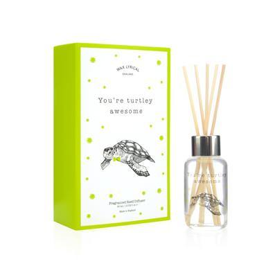 Wax Lyrical You're Turtley Awesome 50ml Reed Diffuser Card