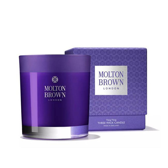 Molton Brown Ylang Ylang Three Wick Candle - British Bespoke | Shop Molton Brown Online - South Africa