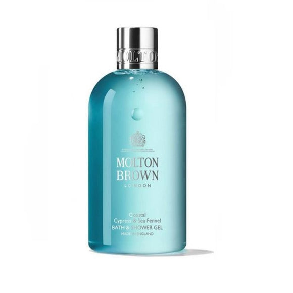 Molton Brown Coastal Cypress & Sea Fennel Bath & Shower Gel - 300m