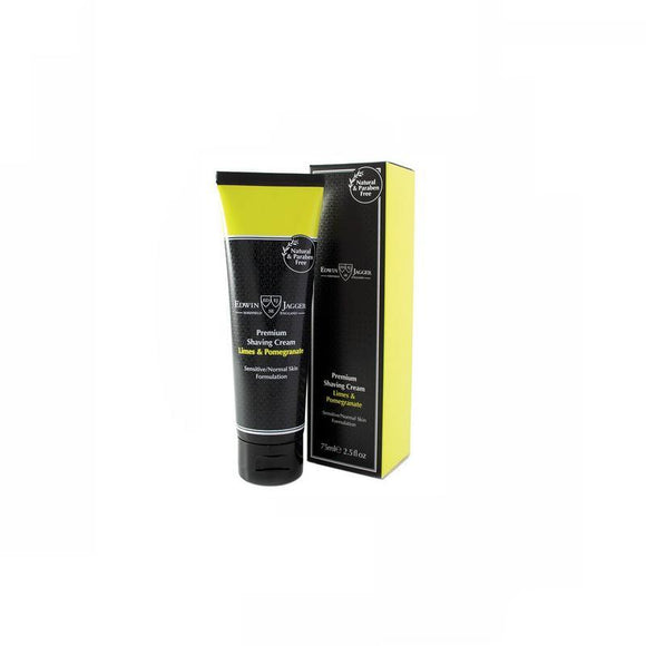Edwin Jagger Limes & Pomegranate Shaving Cream - 75ml