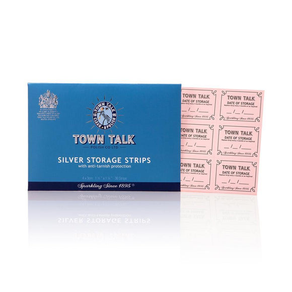 Town Talk- Silver Storage Strips - British Bespoke | Shop Online - South Africa