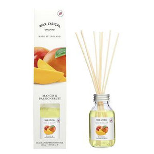 Wax Lyrical Mango & Passionfruit 100ml Reed Diffuser - British Bespoke | Shop Online - South Africa
