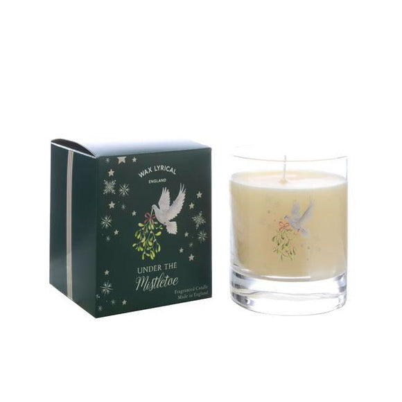 Wax Lyrical Under The Mistletoe Large Candle