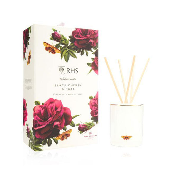 Wax Lyrical Black Cherry & Rose Reed Diffuser - British Bespoke | Shop Online - South Africa