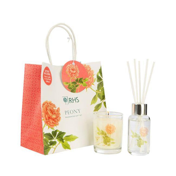 Wax Lyrical Peony Gift Set