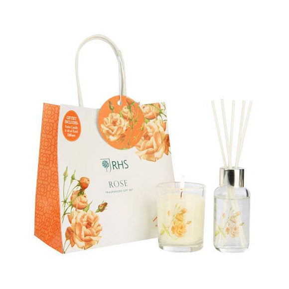 Wax Lyrical Rose Gift Set