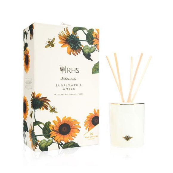Wax Lyrical Sunflower & Amber Reed Diffuser - British Bespoke | Shop Online - South Africa