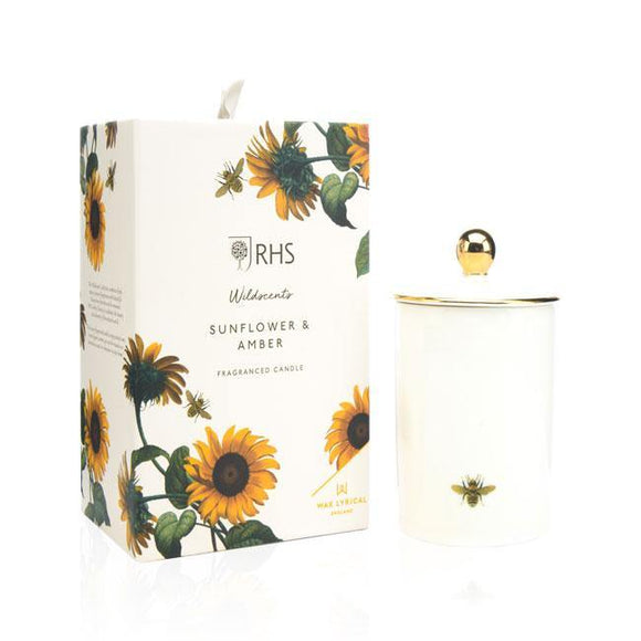 Wax Lyrical Sunflower and Amber Ceramic Candle - British Bespoke | Shop Wax Lyrical Online - South Africa