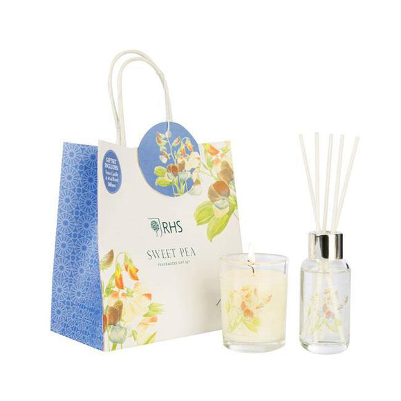 Wax Lyrical Sweet Pea Gift Set