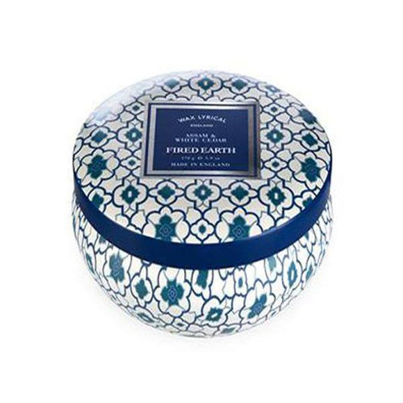 Wax Lyrical Assam & White Cedar Candle Tin - British Bespoke | Shop Online - South Africa