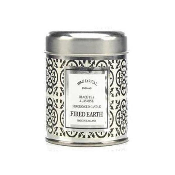 Wax Lyrical Black Tea & Jasmine Candle Tin