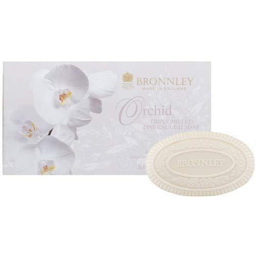 Bronnley RHS Orchid Soap Set of 3 - British Bespoke | Shop Bronnley Online - South Africa