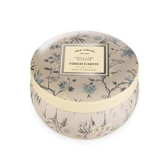 Wax Lyrical Chai & Lime Blossom Candle Tin