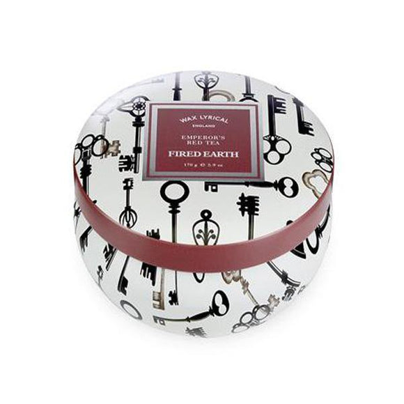 Wax Lyrical Emperor's Red Tea Candle Tin - British Bespoke | Shop Online - South Africa