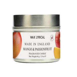 Wax Lyrical Mango & Passionfruit Candle Tin