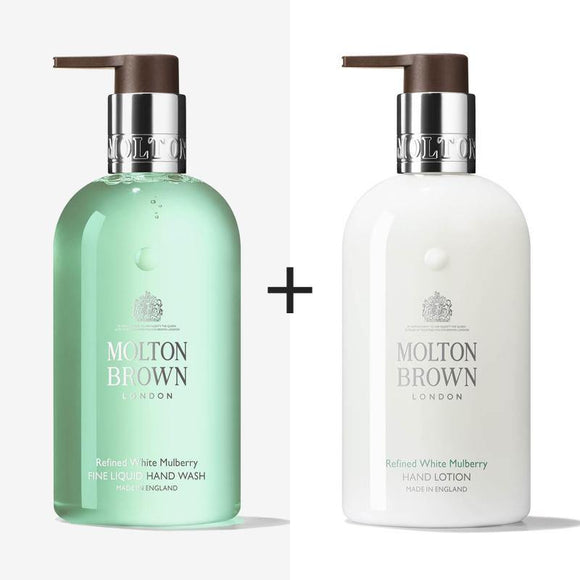 Molton Brown Refined White Mulberry & Thyme Hand Wash & Lotion