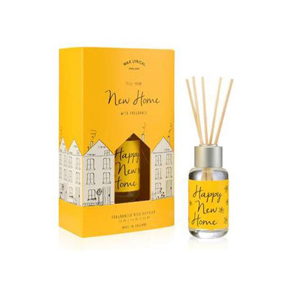 Wax Lyrical New Home 50ml Reed Diffuser Card