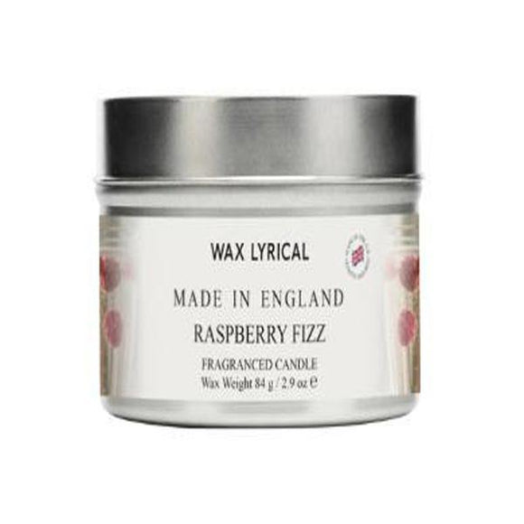 Wax Lyrical Raspberry Fizz Candle Tin