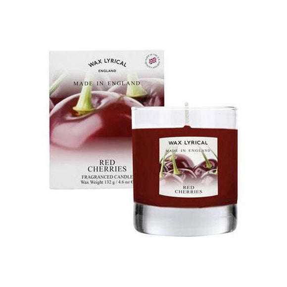 Wax Lyrical Red Cherries Candle - British Bespoke | Shop Online - South Africa