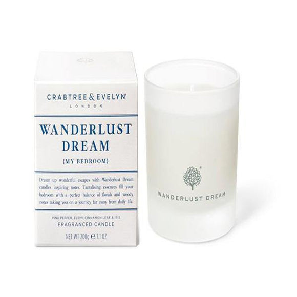 Crabtree & Evelyn Wanderlust Dream Candle