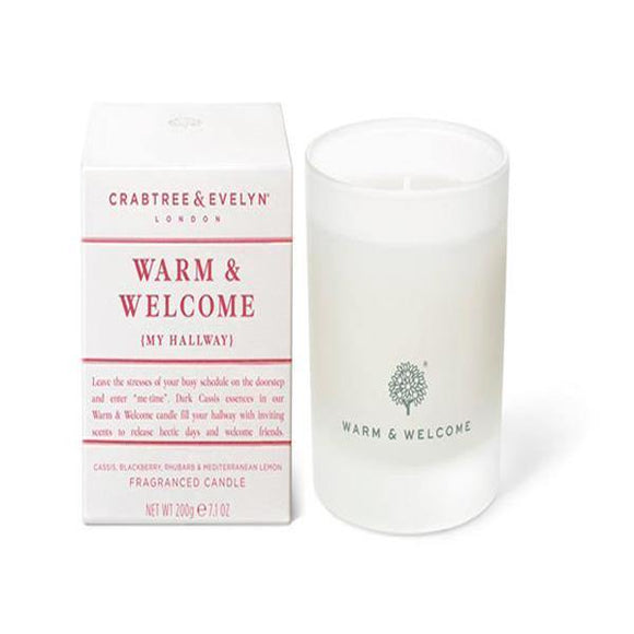 Crabtree & Evelyn Warm & Welcome Candle - British Bespoke