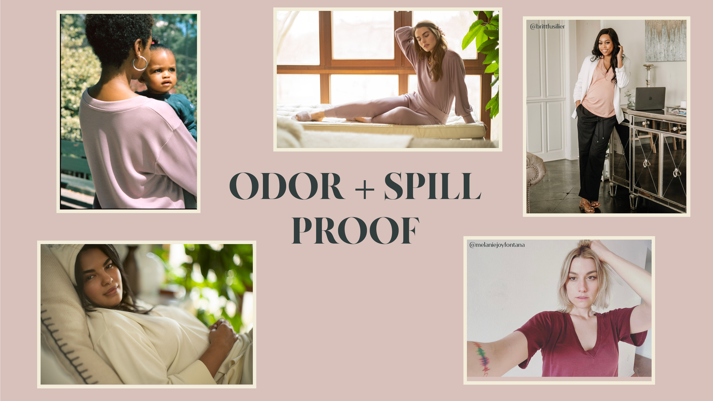 Odor + Spill Proof
