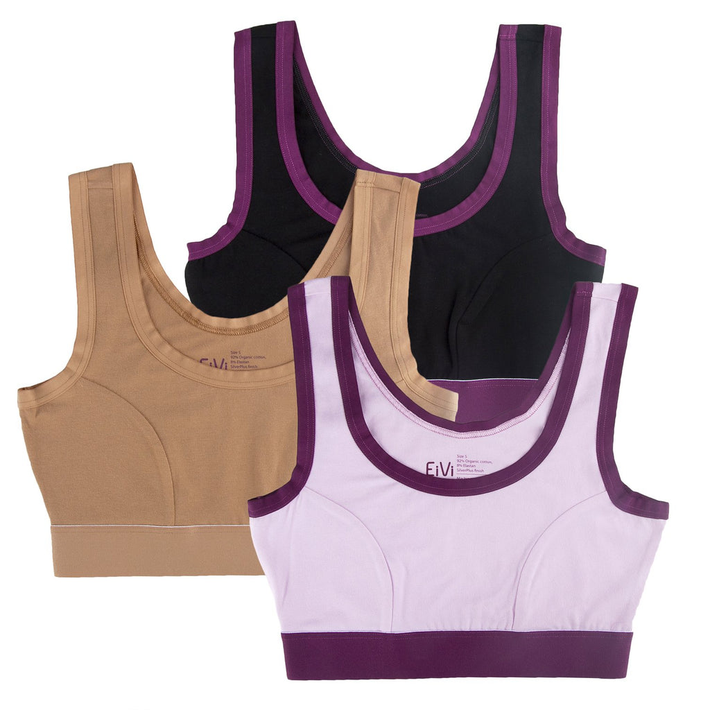 Organic Cotton Sports Bra - Shopper's Boulevard
