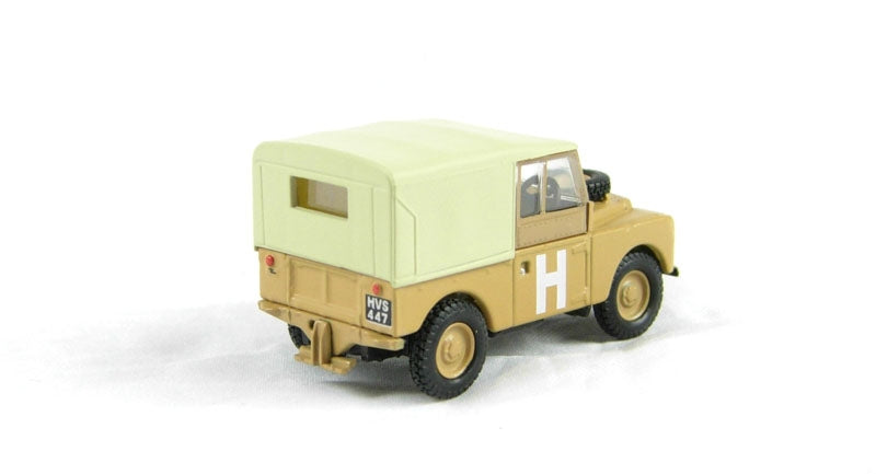 Oxford 1/76 Land Rover Ser.1 88 Canvas (Sand)