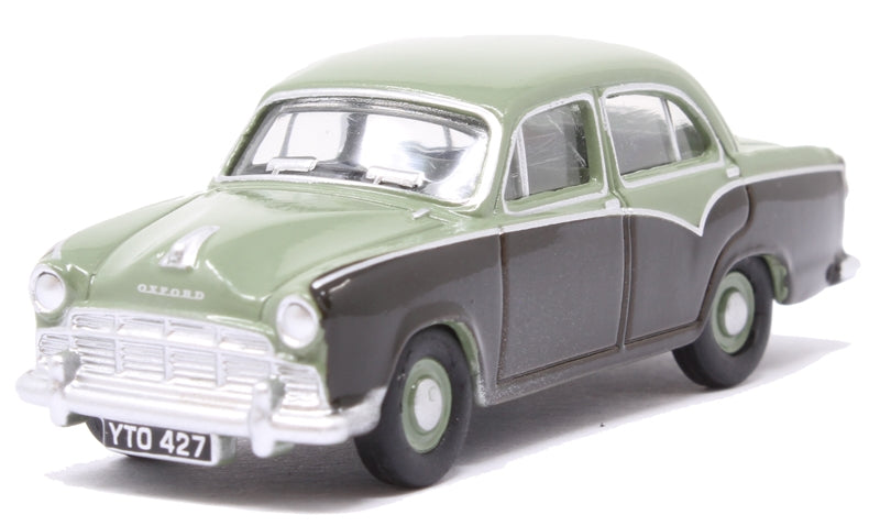 Oxford 1/76 Morris Oxford Iii Sage Green/Grey
