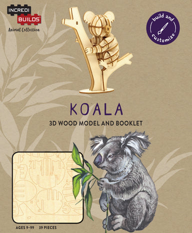 Incredibuilds Animal Collection Koala