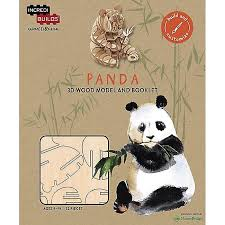 Incredibuilds Animal Collection Panda Wooden Model