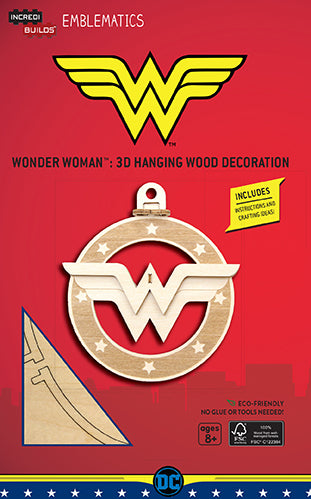Incredibuilds Emblematics DC Comics Wonder Woman Logo