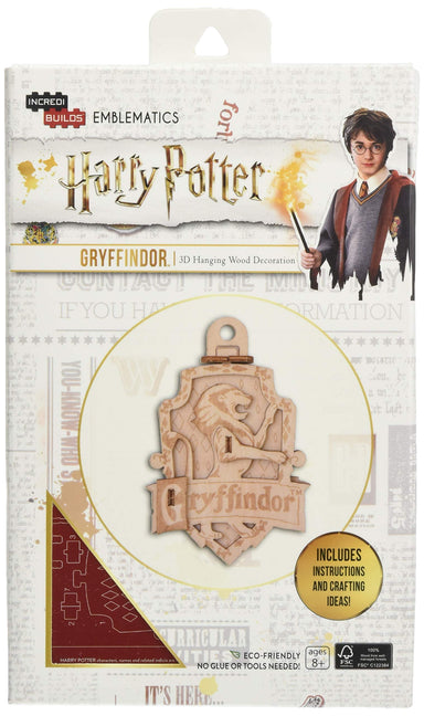 Incredibuilds Emblematics Harry Potter Gryffindor