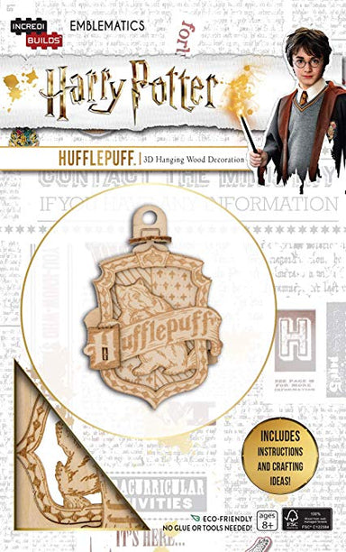 Incredibuilds Emblematics Harry Potter Hufflepuff