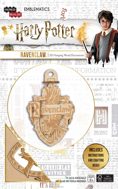 Incredibuilds Emblematics Harry Potter Ravenclaw