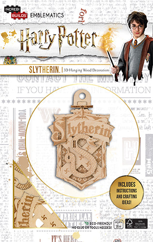 Incredibuilds Emblematics Harry Potter Slytherin
