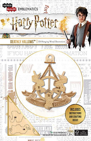 Incredibuilds Emblematics Harry Potter Deathly Hallows