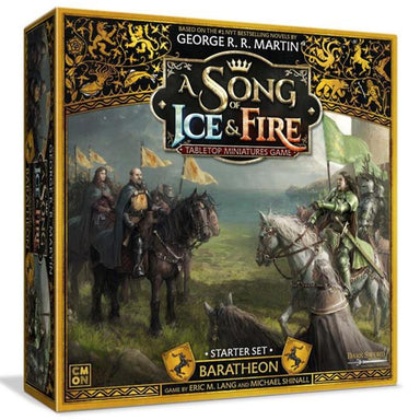 A song of Ice and Fire Baratheon Starter Set Game