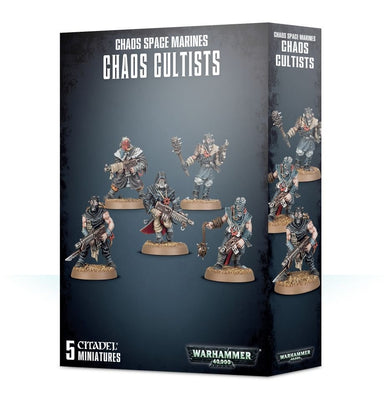 GW 35-34 EASY TO BUILD CHAOS SPACE MARINES CULTISTS