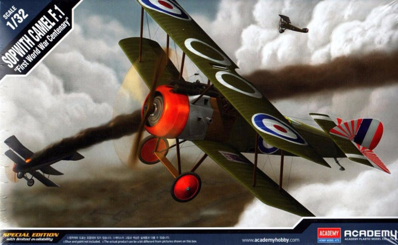 Academy 1/32 Sopwith Camel F.1 First World War Centenary