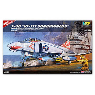 Academy 1/48 F-4B Phantom Vf111 Sundowners