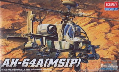 Academy 1/48 Ah-64A Apache Helicopter