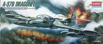 Academy 1/72 A-37B Dragonfly Plastic Model Kit