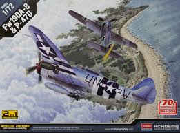 Academy 1/72 Fw190A-8 And P-47D 70 Anniv Normandy Invasion