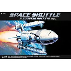 Academy 1/288 Space Shuttle/Booster/Rockets