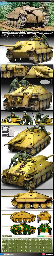 Academy 1/35 Jagdpanzer 38T Hetzer Early Version
