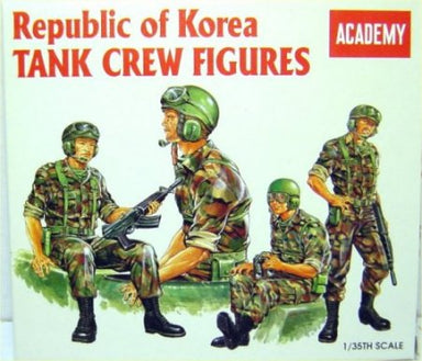 Academy 1/35 Korean Tank Crew Figures