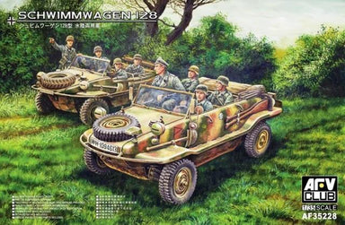 AFV Club 1/35 Schwimmwagen 128 Plastic Model Kit